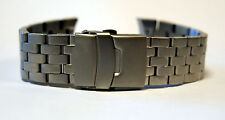 22mm Matt Stainless Steel Bracelet - To fit GWS H3 Tritium G10 Military Watch