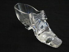 Antique CENTENNIAL EXHIBITION - GILLINDER & SONS CLEAR GLASS SHOE 1876