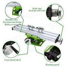 Precision Milling Machine Worktable Multifunction Drill Vise Fixture Table Track