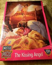 GUARDIAN ANGEL Children PUZZLE (THE KISSING ANGEL)550 PIECE FACTORY SEALED #6020