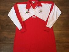 1990s Wales L/s Rugby League Shirt Adults XXL Jersey