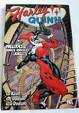 Harley Quinn Preludes and Knock-Knock Jokes Hardcover Book NM *REAL PHOTOS*