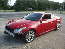 Infiniti: G G37 G37S Coupe NAVI Salvage Rebuildable Repairable