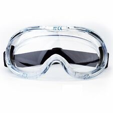 Lab Safety Goggle Glasses Comfort Eye Protection Anti-Fog Wide Vision Eyewear HQ