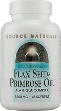 Source Naturals Flax Seed Primrose Oil 1300 mg 45 Softgel 45 softgel