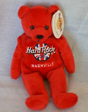 Hard Rock Cafe Nashville Rita Beara Red Beanie Bear EUC