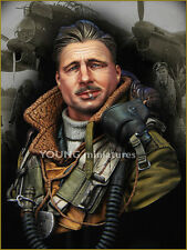 Young Miniatures British RAF Bomber Command YM1850 WW2 Bust Unpainted Resin kit