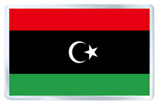 LIBYA FLAG FRIDGE MAGNET SOUVENIR IMAN NEVERA