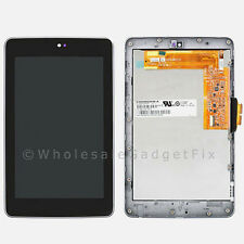USA Google Asus Nexus 7 LCD Display Screen Touch Screen Digitizer Frame Assembly