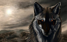 Poster A3 Lobo Wolve 03