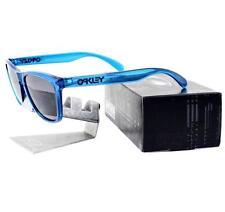 Oakley 24-250 FROGSKINS Acid Blue Frame Grey Lens Mens Wayfarer Sunglasses Rare