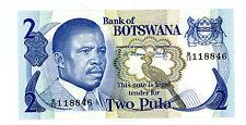 BOTSWANA ... P-7b ... 2 Pula ... ND(1982) ... *UNC*