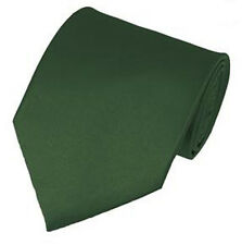Solid Color Men's Tie Hand Made Various Colors Manzini Neckwear