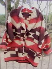 Vtg RALPH LAUREN COUNTRY Southwestern Native indian style BLANKET COAT JACKET