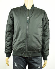 LRG Mens Cobra Down Black Full Zip Jacket M New