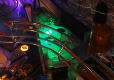 Addams Family Pinball Swamp Area light mod GREEN