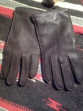 .Polo Ralph Lauren Lamb Skin Leather Cashmere Gloves NWOT