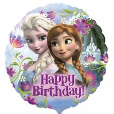 Frozen Happy Birthday Standard Foil Balloons Party Decoration Supplies