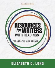 Resources for Writers with Readings by Elizabeth C. Long (2011, Paperback,...
