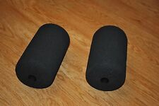 """1 Pair Home Gym Replacement Foam Roller Pad - 8""""x5""""x1"""" - Curl - Leg Extension"""