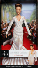 Barbie Collector JENNIFER LOPEZ RED CARPET DOLL 2013 Mattel NEW Black Label JLo