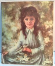 small vintage C Mitchell oil painting reproduction by Bernard picture Co