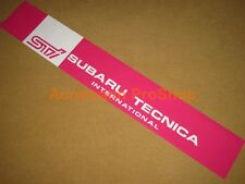 "53"" STi Subaru Tecnica Windshield decal sticker banner sun strip visor BRZ WRX 6"