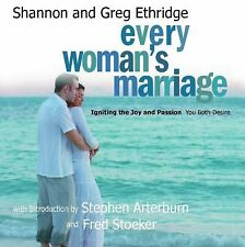 Every Woman's Marriage by Shannon and Greg Ethridge, Audiobook On CD