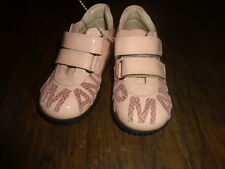 NEW AUTHENTIC ARMANI GIRLS PINK SHOES  23 US 7 DARLING