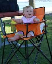 Ciao! baby Orange Portable Highchair HB2002 NEW