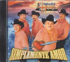 Paralelo Norte Simplemente Amor CD New Sealed