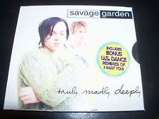 Savage Garden Truly Madly Deeply / I Want You Remixes Australian CD Single