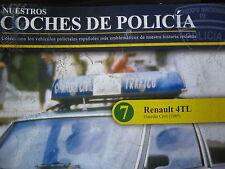 FASCICULE POLICE  N°7 RENAULT 4L GUARDIA CIVIL