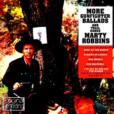 MARTY ROBBINS ~ MORE GUNFIGHTER BALLADS NEW CD COUNTRY + WESTERN COWBOY SONGS