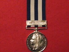 FULL SIZE EGYPT MEDAL TEL-EL-KEBIR CLASP MUSEUM COPY MEDAL WITH RIBBON.