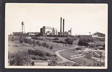 Circa 1945 Real Photo Postcard The Paper Mill KAPUSKASING Ontario Canada