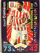 Match Attax 2016/17 Premier League - #MT40 Geoff Cameron - International Star