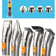 Kemei 110V 7 in 1 Rechargeable Pro Hair Cutting Kit Clippers Trimmer Shaver 580A