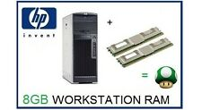 8GB (2X4GB) 667 MHz memoria ECC RAM UPGRADE PER HP Workstation xw6400 e XW6600