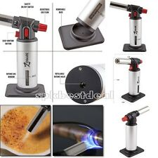 Culinary Brulee Creme Torch Kitchen Food Butane Gas Professional Chef Cooking