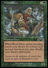 MTG WOOD ELVES EXC - ELFI DEI BOSCHI - EX - MAGIC