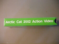 Arctic Cat 2002 Snowmobile Action VHS Video