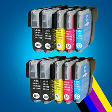 10 Compatible ink cartridge LC980 LC1100 for Brother DCP 195C 197C 365CN 375CW 2