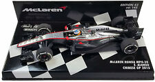Minichamps MCLAREN HONDA mp4-30 # 14 Cina GP 2015-FERNANDO ALONSO SCALA 1/43