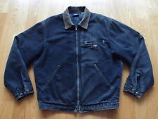 Vintage Dickies Denim Work Jacket Size M Faded Farm Chore Barn Made in USA WIP