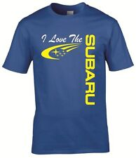 subaru tshirt for enthusiasts sti wrx t shirt custom printed