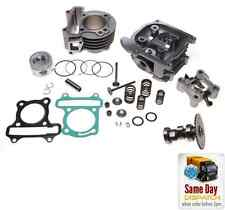 NEW BIG BORE CYLINDER BARREL KIT 80cc + HEAD FOR KYMCO SENTO SUPER 8 50 4T