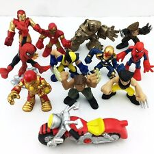 11 Lot Playskool Heroes Marvel Legends Universe Super Hero Squad Figure Baby Toy