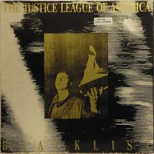 THE JUSTICE LEAGUE OF AMERICA 'BLACKLIST' UK LP WITH PHOTOS AND INSERTS