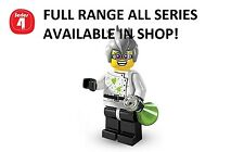 Lego minifigures crazy scientist series 4 (8804) new factory sealed